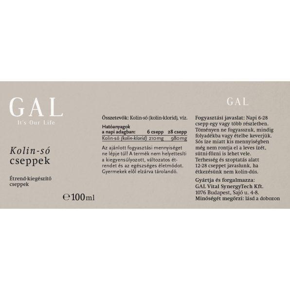GAL Choline salt