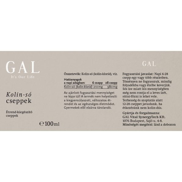 GAL Kolin-só cseppek